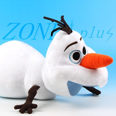 Disney アナと雪の女王 オラフ ぬいぐるみ 約 全長37cm (Bタイプ:寝そべりオラフ)