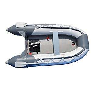 Buy 8.2 Ft Inflatable Boat Inflatable Pontoon Dinghy Raft Tender Boat with Air-deck Floor by Bris Boat