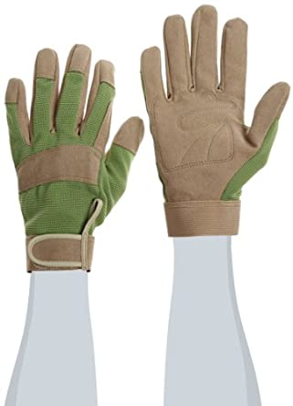 """West Chester 86205 Synthetic Leather General Utility High Dexterity Glove, Work, 8-1/4"""" Length, Women's (Pack of 1 Pair)"""