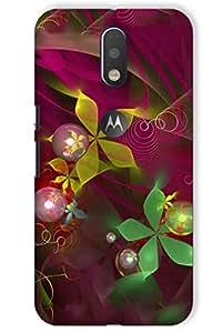 IndiaRangDe Hard Back Cover FOR Motorola Moto G 4th Generation