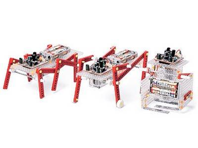 楽しい工作シリーズ No.166 音センサー歩行ロボット製作セット (70166)