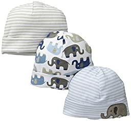 Mud Pie Baby Elephant Cap Set, Elephant, New Born
