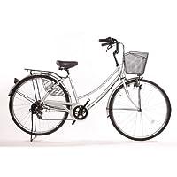 【100%完成車!】Lupinusルピナスブランド自転車シマノ外装6段ギア26インチダイナモライト軽快車
