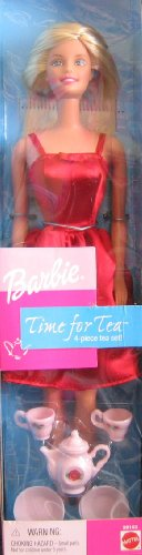 pieces of barbie	doll set of