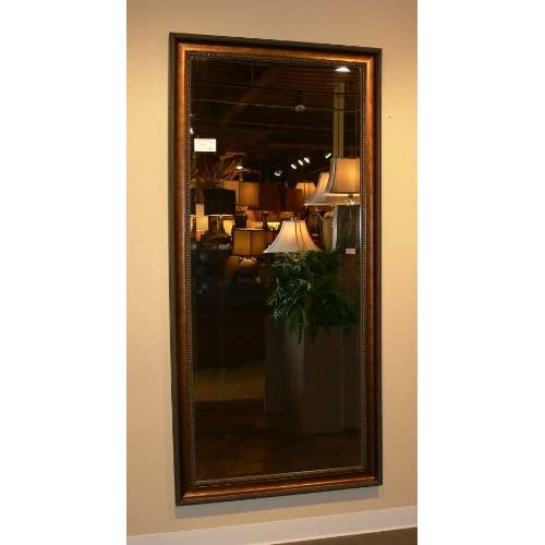 Extra Large Dark Gold Wall Floor Mirror FULL LENGTH Antique XL