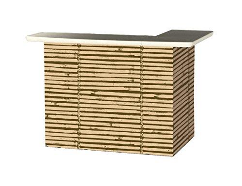 Best of Times Portable Patio Bar Table, Luau Tiki (Outdoor Tiki Bar compare prices)