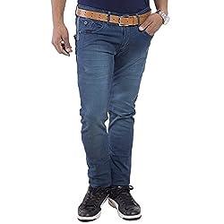 URBAN FAITH Fancy Boyes Jeans in Turquoise
