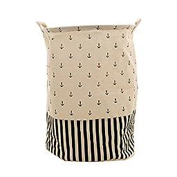 Foldable Practical Toys Clothes Basket Storage Bag #12