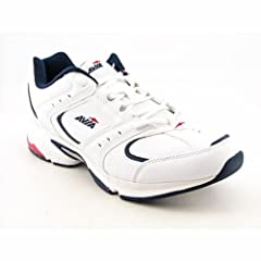 Buy Avia A6442MWDR Running Shoes White Mens by Avia