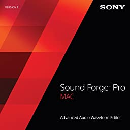 Sony Sound Forge Pro Mac 2 [Download]