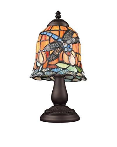 Artistic Lighting Mix-N-Match 1-Light Dragonfly Table Lamp, Bronze