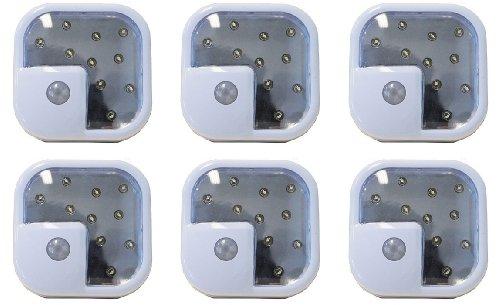 Wireless Led Motion Sensor Light, 6-Pack