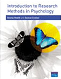introduction to statistics in psychology pdf