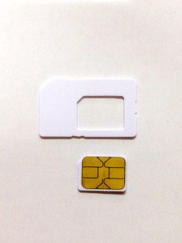 softbank iPhone5 専用 純正Nano simカード(0.67mm) アクティベーション〓アクティベートカードactivation【nano simサイズ】