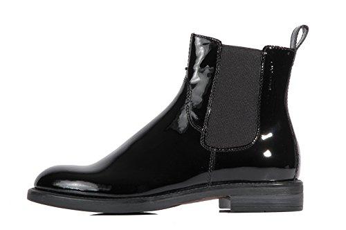 Vagabond Amina Black bootie patent leather - Stivaletto nero in pelle lucida