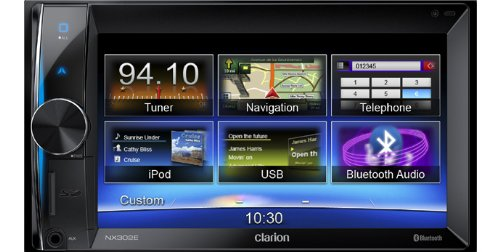 CLARION-NX302E-2-DIN-Multimedia-Navigation