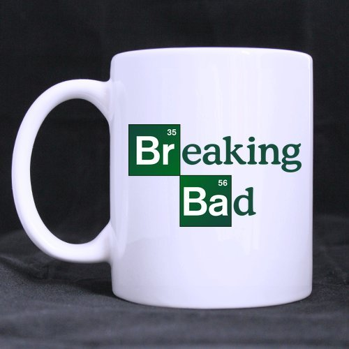 Mugs Breaking Bad High Quality Ceramic Coffee Mug - White - Great Funny Gifts Good For Family, Friends