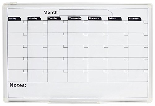Dry Erase Calendar Template : Displays go calendar whiteboard with month template