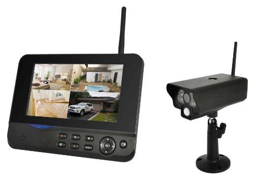 COMAG-Digitales-Kamera-Funk-berwachungs-Set-inkl-7-Zoll-TFT-Monitor-kabellos-Nachtsicht-Infrarotkamera-erweiterbar-bis-zu-4-Kameras-bis-zu-300-m-Aufnahmefunktion-SD-Kartenslot-bis-32GB-USB-20-fr-exter