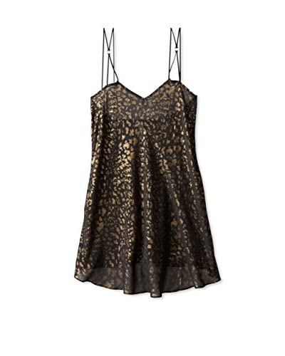 Between the Sheets Women's Leopard Play Babydoll