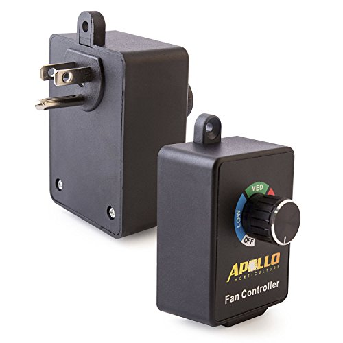 Apollo Horticulture Variable Dial Router Inline Duct Fan Speed Controller (Low Voltage Inline Duct Fan compare prices)