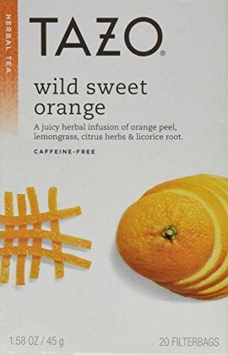 Tazo Tea Herbal Wild Sweet Orange Tea