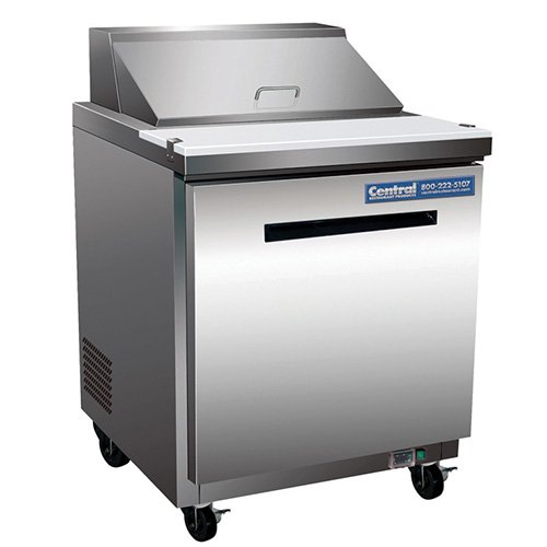 Sandwich/Salad Table - Standard Unit, 8 Pan Capacity 1 Each front-2686