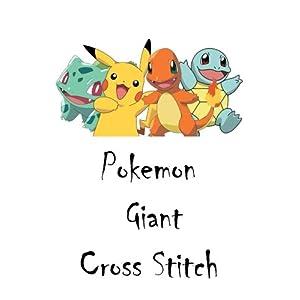 Pokemon - Giant Cross Stitch