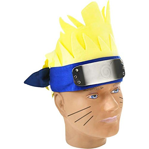 Men's Naruto Costume Wig