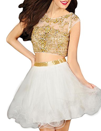 SeasonMall-Womens-Short-Prom-Dresses-A-Line-Two-Pieces-Tulle-Homecoming-Dresses