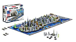 4D New York City Skyline Time Puzzle by Cityscape