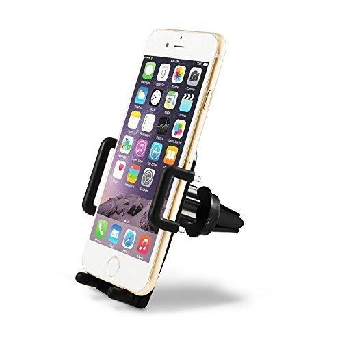Supporto Auto Smartphone TaoTronics Porta Cellulare Universale Air Vent per iPhone, Smartphone Android, Telefoni Cellulari 360 Gradi di Rotazione