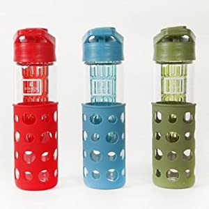 3 Hydration Water Bottles with Infuser by Gibson Home