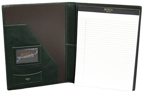 bosca-correspondent-8-1-2-x-11-writing-pad-cover-verde-by-bosca