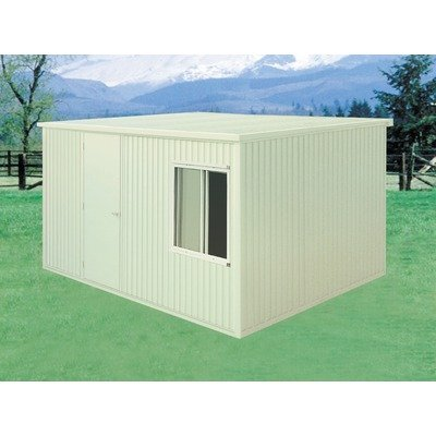 30421 Duramax 13x10 Plastic Storage Shed Insulated Steel Building