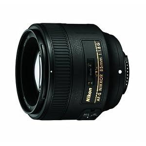 Nikon 85mm f/1.8G AF-S NIKKOR Lens for Nikon Digital SLR Cameras