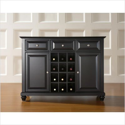 Cambridge Buffet Server Sideboard Cabinet Wine Storage