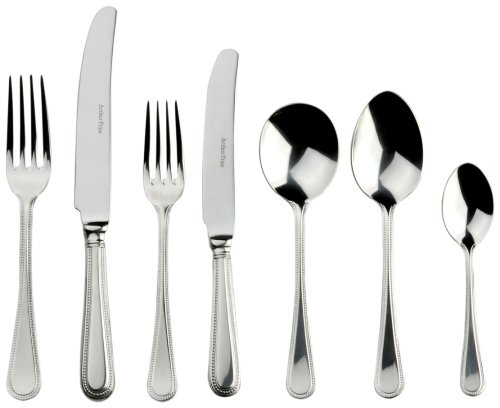 Arthur Price Classic 58-piece Bead cutlery set for 8 people in a stylish canteen