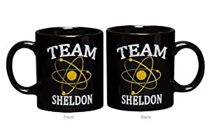 Big Bang Theory Mug TEAM SHELDON Cup in Black