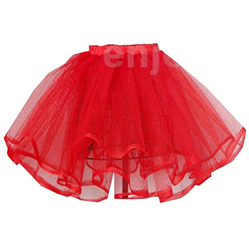 Women Petticoat Pettiskirt Tutu Skirt Rockabilly Pinup Popular 4 Colors
