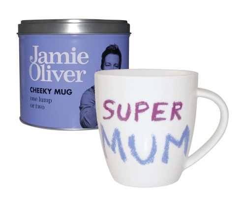 Jamie Oliver Super Mum Mug in Tin