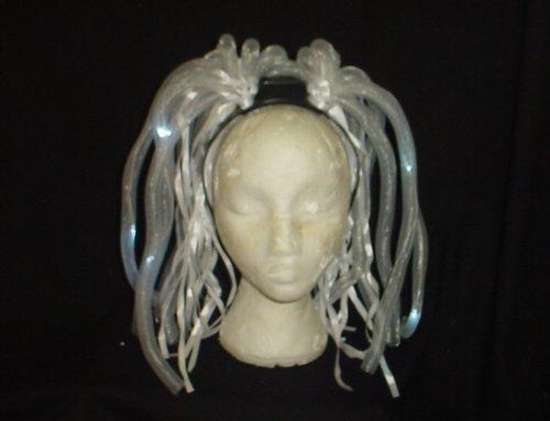 Toyland 72 X White Noodle Light Up Headbands For Wholesale (Fl12)