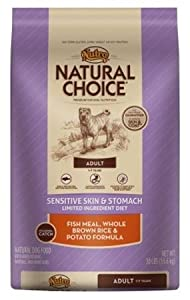 Natural Choice Fish Meal, Whole Brown Rice and Potato Adult Dog Food, 30 lbs.