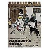 P1105 CADBURY'S COCOA NOSTALGIC OLD ADVERT FUN POSTER PRINT
