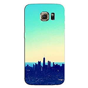CITY IN BLUE BACK COVER FOR SAMSUNG GALAXY S6