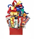 Junk Food Galore Gift Basket Idea