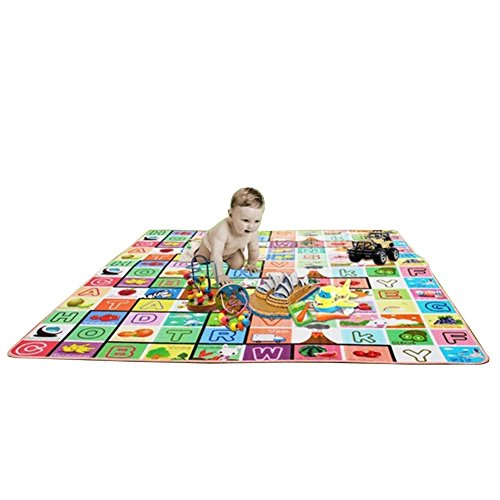 Ciamlir High Quality Child Play Mats Aluminum Eco-Friendly Baby Play Mats Crawling Pad,Can Be Used As Camping Mats, Tent Mats front-811642
