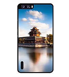 PRINTSWAG PALACE Designer Back Cover Case for HUAWEI HONOR 6 PLUS