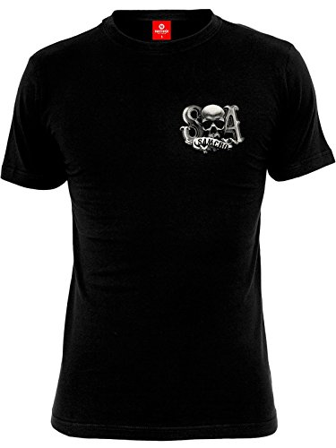 Sons Of Anarchy Reaper Crew T-Shirt nero XL