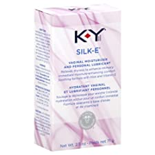 K-Y Silk-E Vaginal Moisturizer and Personal Lubricant, 2.5 oz.